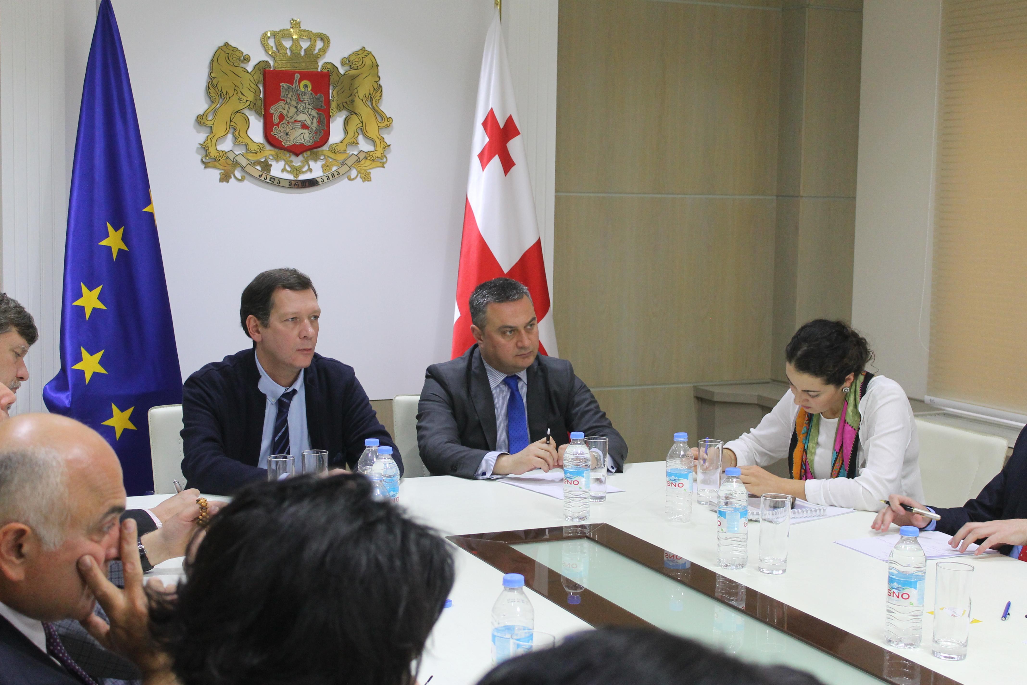 Zviad Chumburidze and Victor Dolidze