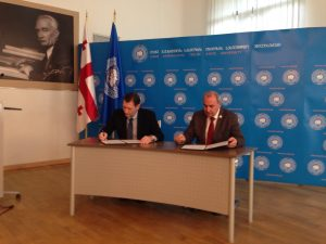 Zviad Chumburidze and Giorgi Sharvashidze, Memorandum between EUGBC & TSU