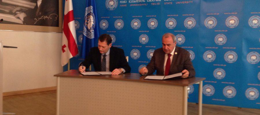 Zviad Chumburidze and Giorgi Sharvashidze, Memorandum between EUGBC & TSU