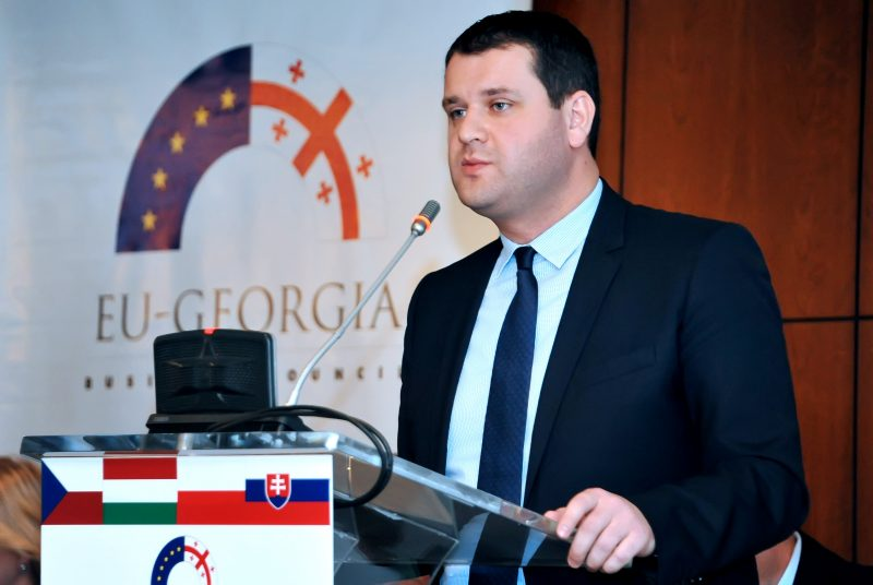 Genadi Arveladze, Deputy Minister of Economy and Sustainable Development of Georgia