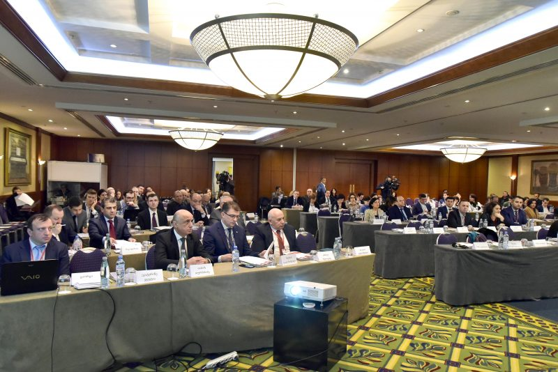 Conference held in Tbilisi between court and business by EUGBC