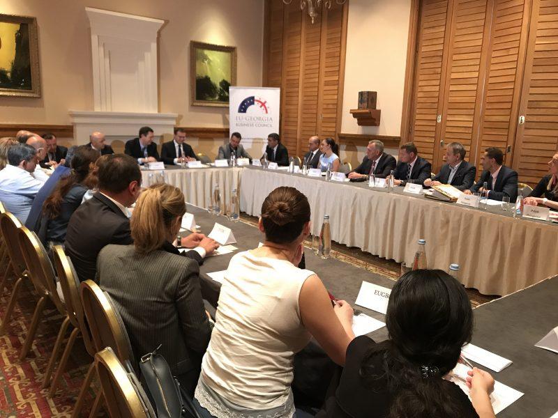 Polish Round Table.Georgian Polish Business Round Table Organized By Eugbc On June 19